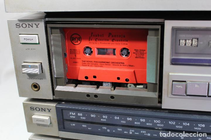 Radios antiguas: vintage tocadiscos equipo sony - Foto 6 - 127601275