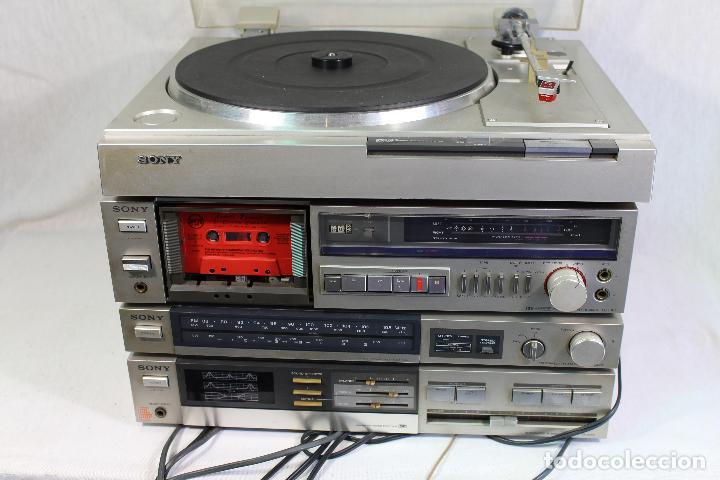 Radios antiguas: vintage tocadiscos equipo sony - Foto 7 - 127601275