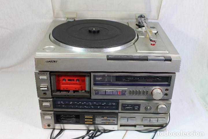 Radios antiguas: vintage tocadiscos equipo sony - Foto 8 - 127601275
