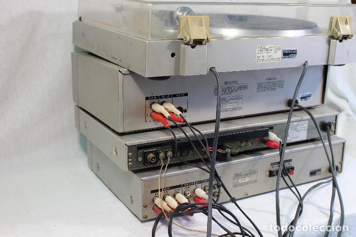 Radios antiguas: vintage tocadiscos equipo sony - Foto 10 - 127601275