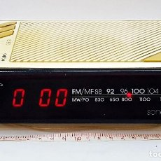 Radios antiguas: RADIO RELOJ GRUNDIG SONOCLOK 24. Lote 210964954