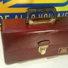 Radios antiguas: ESTUCHE PORTA CINTAS DE CASSETTES- MARCA DOGY - ORIGINAL AÑOS 70. A ESTRENAR. Lote 127839971