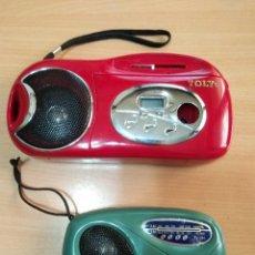 Radios antiguas: LOTE DE RADIOCASETE/RADIO Y RADIO.MARCA : TOLY. Lote 127878847