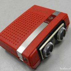 Radios antiguas: ANTIGUA TRANSISTOR RADIO MARCA ELECTRA DE BOLSILLO - BONITA PIEZA DE COLECCIÓN. Lote 127889711