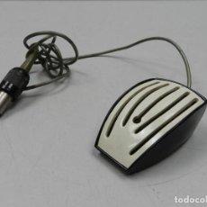 Radios antiguas: MICRÓFONO EXCELENTE OBJETO VINTAGE DE LOS 70-80. Lote 127892435
