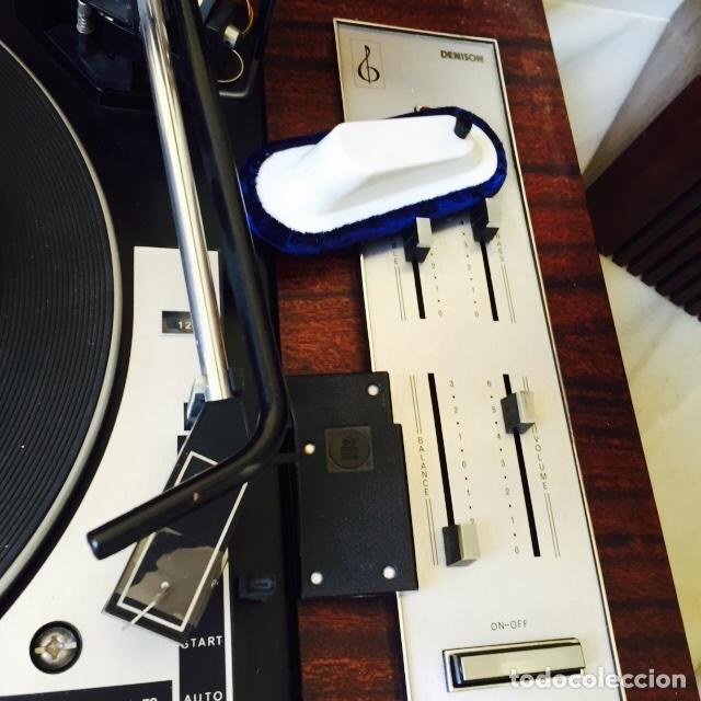 Radios antiguas: Tocadiscos emerson con sus altavoces en madera - Foto 3 - 127968656