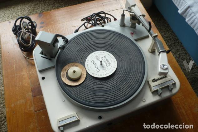 GARRARD TYPE A (Radios, Gramófonos, Grabadoras y Otros - Transistores, Pick-ups y Otros)