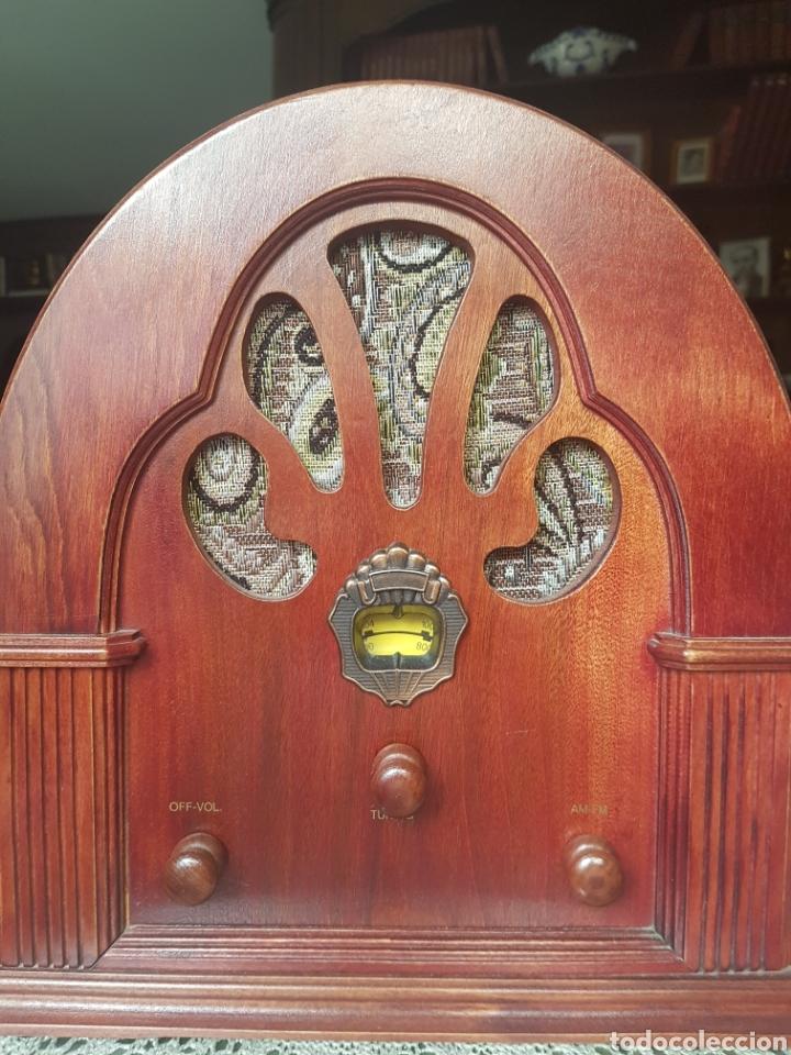 RADIO ANTIGUA VINTAGE. (Radios, Gramófonos, Grabadoras y Otros - Transistores, Pick-ups y Otros)