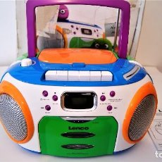 Radios antiguas: RADIO CD CASSETTE LENCO SCR-97 NUEVO. Lote 128145839