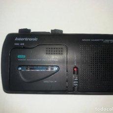 Radios antiguas: GRABADORA DITTAFONO CON MICROCASSETTE A ESTRENAR. Lote 128369931