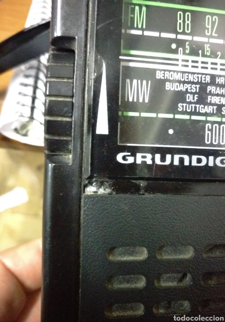 Radios antiguas: Radio transistor grundig signal 100 funcionando - Foto 2 - 128524179