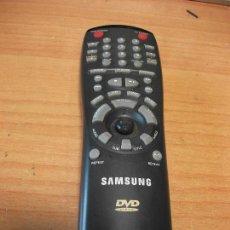 Radios antiguas: MANDO A DISTANCIA SAMSUNG DVD TESTADO LED Y RADIO FRECUENCIA PEPETO ELECTRONICA. Lote 128657111