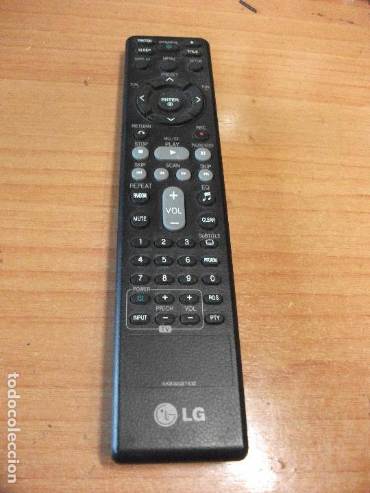 MANDO LG AKB36087432 TESTADO LED Y RADIOFRECUENCIA PEPETO ELECTRONICA (Radios, Gramófonos, Grabadoras y Otros - Transistores, Pick-ups y Otros)