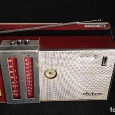Radios antiguas: RADIO TRANSISTOR INTER EUROMODUL 114 - PARA PIEZAS. Lote 128784263