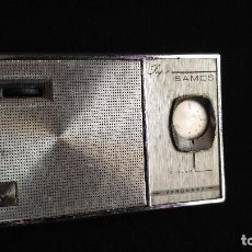 Radios antiguas: RADIO TRANSISTOR VANGUARD SUPER SAMOS - FUNCIONA - LEER. Lote 128785151