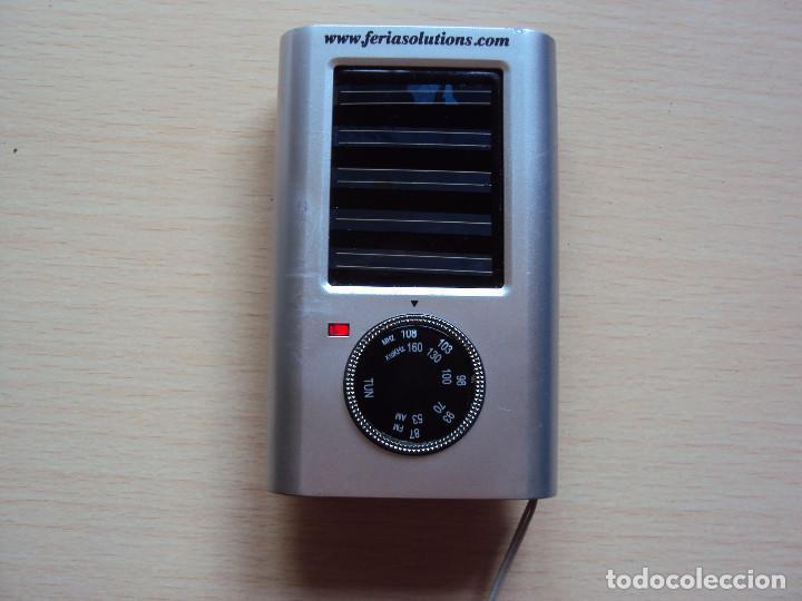 RADIO SOLAR (Radios, Gramófonos, Grabadoras y Otros - Transistores, Pick-ups y Otros)