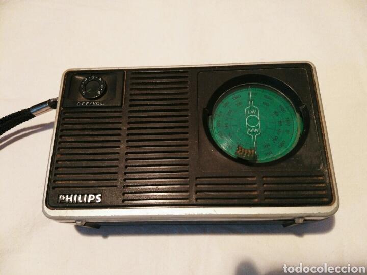 RADIO TRANSISTOR PHILIPS, AÑOS 60 O 70 (Radios, Gramófonos, Grabadoras y Otros - Transistores, Pick-ups y Otros)