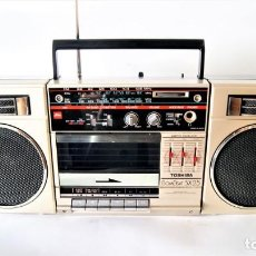 Radios antiguas: MINI CADENA TOSHIBA BOMBEAT SX25. Lote 129964583