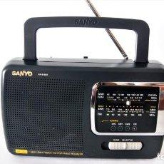 Radios antiguas: RADIO MULTIBANDA SANYO RP-6165K. Lote 129966075