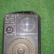 Radios antiguas: ANTIGUA RADIO TRANSISTOR MILITAR , AÑOS 40, PIEZA COLECCION VOLLTRANSISTOR LAUTSTARKE UKW-MW. Lote 130080619