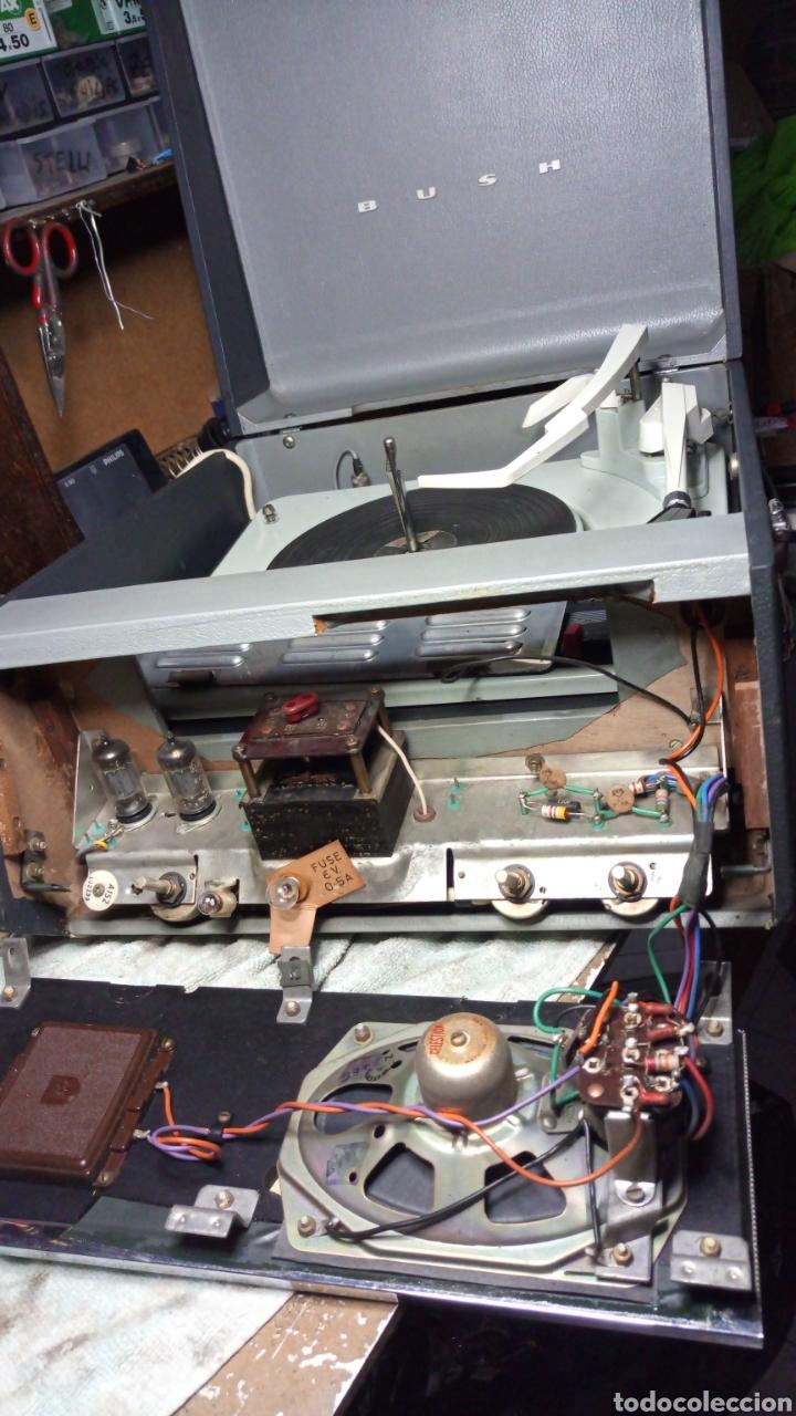 Radios antiguas: Tocadiscos Bush -Garrard - Foto 2 - 130086050
