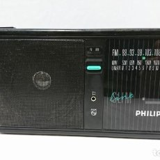 Radios antiguas: RADIO TRANSISTOR PHILIPS SLIM LINE. Lote 130223663