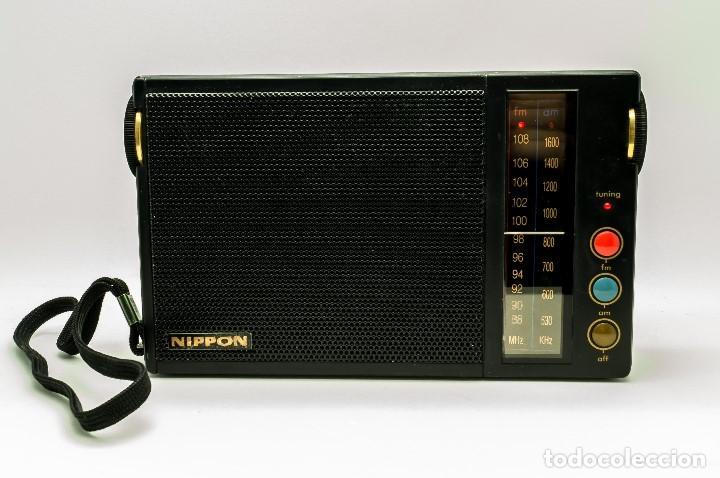 RADIO TRANSISTOR VINTAGE NIPPON FS-212 GAMA ALTA (Radios, Gramófonos, Grabadoras y Otros - Transistores, Pick-ups y Otros)