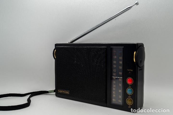 Radios antiguas: RADIO TRANSISTOR VINTAGE NIPPON FS-212 GAMA ALTA - Foto 6 - 130276154
