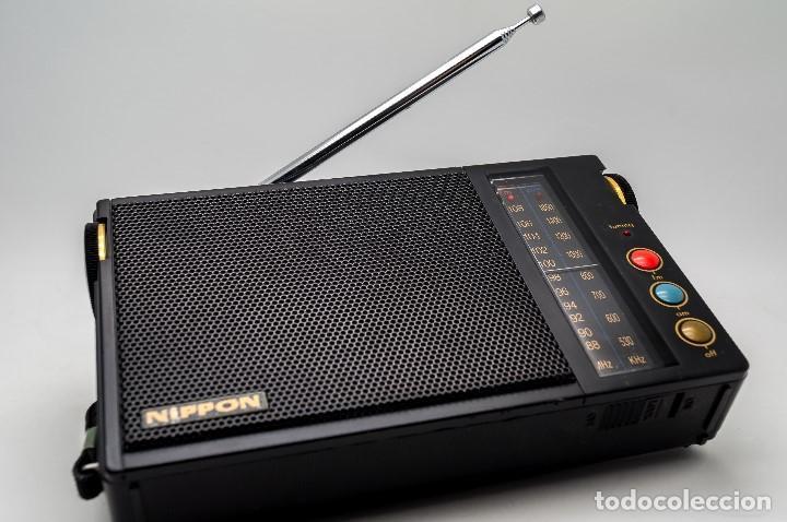 Radios antiguas: RADIO TRANSISTOR VINTAGE NIPPON FS-212 GAMA ALTA - Foto 7 - 130276154