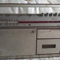 Radios antiguas: ANTIGUO RADIO CASSETTE INGRA . Lote 130289550