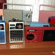 Radios antiguas: RETO VINTAGE COLECION 16 PIEZAS AÑOS 60/70 RADIOTRANSISTORES Y REPRODUCTORES CASETTES. Lote 130802964