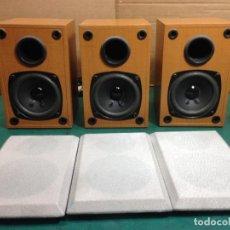Radios antiguas: TRES PEQUEÑOS ALTAVOCES. Lote 130810844