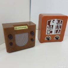 Radios antiguas: LOTE RADIOS IMITACIÓN ANTIGUA. Lote 131178684
