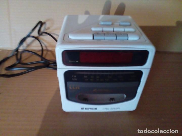 Radios antiguas: RADIO CASSETE DESPERTADOR - Foto 3 - 131191752