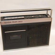 Radios antiguas: RADIO CASETTE SABA RCR 352. Lote 131204876