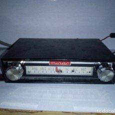 Radios antiguas: MINOR-PEQUEÑA RADIO DE COCHE- AÑOS 60.70 MONOAURAL-12V-ENCIENDE-POSIBLEMENTE HECHA EN ESPAÑA. Lote 131449822