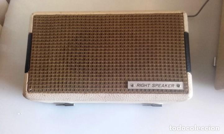 Radios antiguas: MALETIN RADIO TOCADISCOS CROWN STP.35R - Foto 5 - 131624174