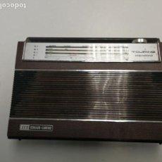 Radios antiguas: ANTIGUA RADIO TRANSISTOR VINTAGE ITT SCHAUB LORENZ TOURING INTERNATIONAL 101 FUNCIONANDO. Lote 131630078