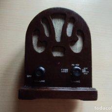 Radios antiguas: RADIO CAPILLA REPLICA. Lote 131708878