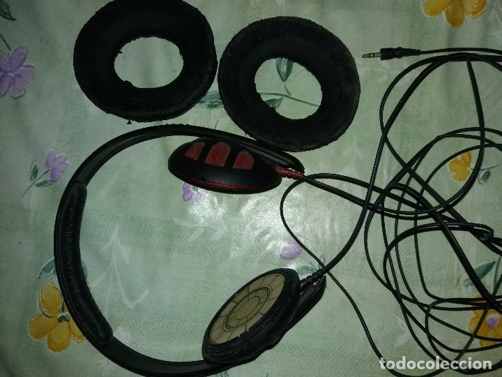 AURICULARES SENNHEISER HD 450 AÑOS 80 GRAN CALIDAD (Radios, Gramófonos, Grabadoras y Otros - Transistores, Pick-ups y Otros)