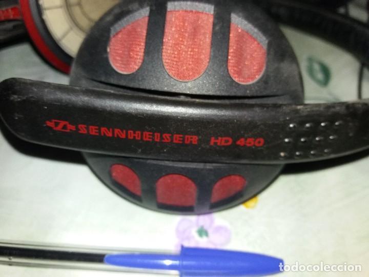 Radios antiguas: Auriculares sennheiser hd 450 años 80 gran calidad - Foto 2 - 131849742