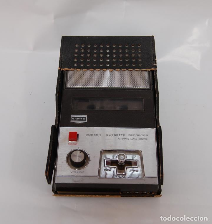 CASSETTE RECORDER SANYO (Radios, Gramófonos, Grabadoras y Otros - Transistores, Pick-ups y Otros)