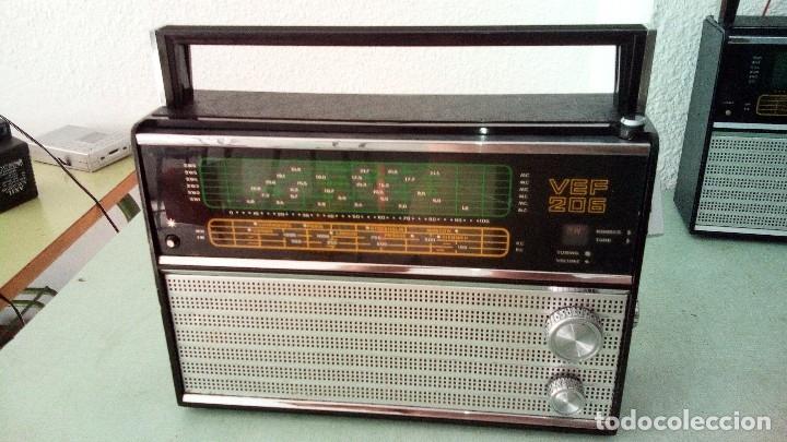 Radios antiguas: RADIO MULTIBANDAS VEF 206 - Foto 7 - 146029024
