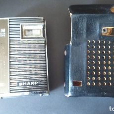 Radios antiguas: ANTIGUA RADIO TRANSISTOR SHARP FUNCIONANDO . Lote 140838448