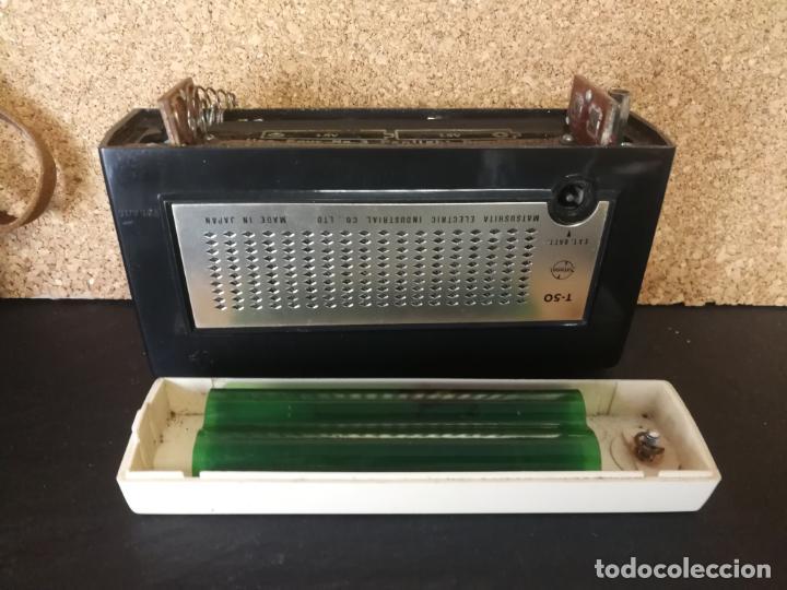 Radios antiguas: RADIO TRANSISTOR NATIONAL T50 - Foto 12 - 132403398