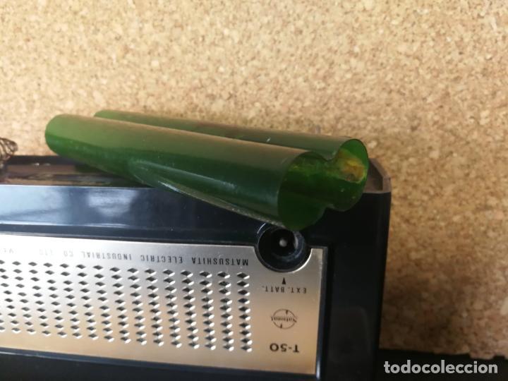 Radios antiguas: RADIO TRANSISTOR NATIONAL T50 - Foto 13 - 132403398