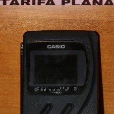 Radio antiche: TELEVISOR, TELEVISIÓN , TV PORTÁTIL ANALÓGICA PEQUEÑA CASIO TAL Y COMO SE VE SIN CARGADOR. Lote 132403750