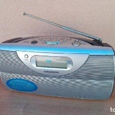 Radios antiguas: RADIO TRANSISTOR DIGITAL GRUNDIG CONCERT BOY 80 FUNCIONANDO . Lote 132572006