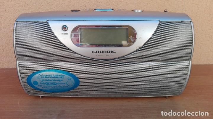 Radios antiguas: RADIO TRANSISTOR DIGITAL GRUNDIG CONCERT BOY 80 FUNCIONANDO - Foto 2 - 132572006
