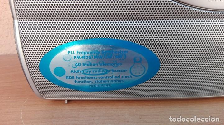 Radios antiguas: RADIO TRANSISTOR DIGITAL GRUNDIG CONCERT BOY 80 FUNCIONANDO - Foto 4 - 132572006